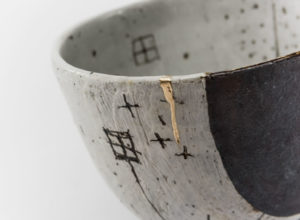 Kintsugi bowl by Keiko Matsui, Photo by Greg Piper.