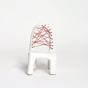 (10) Stitched chair